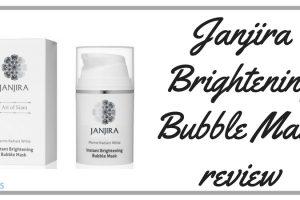 Janjira Brightening Bubble Mask Review TheFuss.co.uk