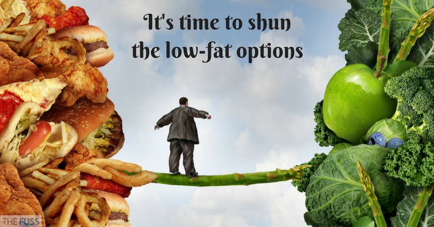 Low Fat Foods Aren't The Answer In The Fight Against Obesity TheFuss.co.uk