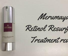 Merumaya Retinol Resurfacing Treatment Review TheFuss.co.uk