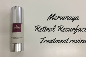 Merumaya Retinol Resurfacing Treatment Review TheFuss.co.uk