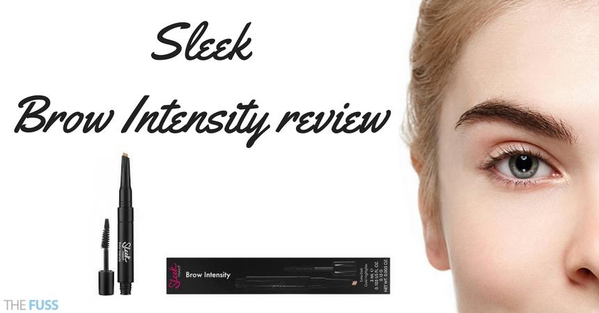 Sleek Brow Intensity Review TheFuss.co.uk