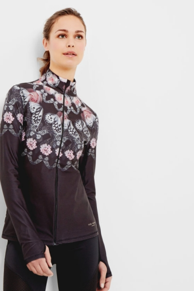 Ted Baker Dynamic Butterfly Zip Up To