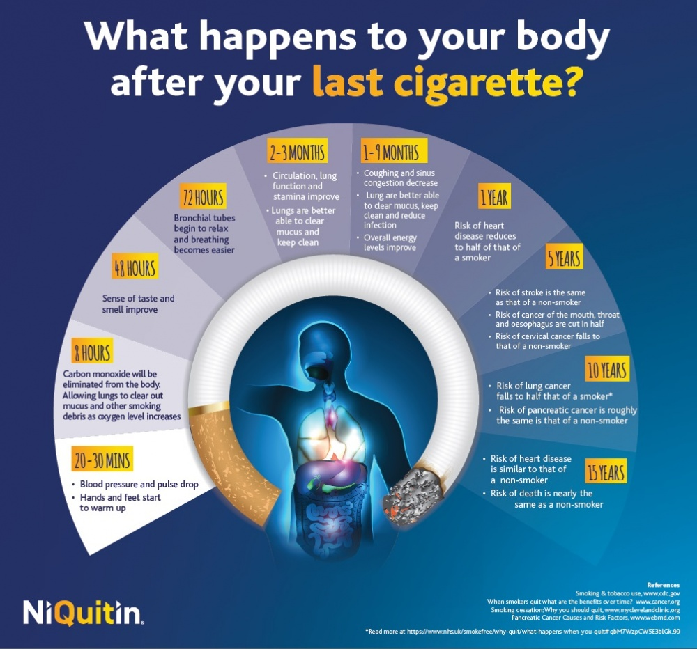 What Happens To Your Body After Your Last Cigarette TheFuss.co.uk
