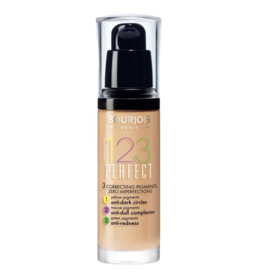 Bourjois 123 Perfect Foundation Review TheFuss.co.uk