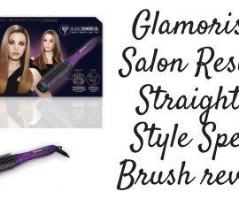 Glamoriser Salon Results Straight Style Speed Brush Review TheFuss.co.uk