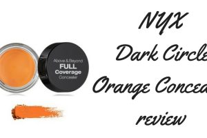 NYX Dark Circle Orange Concealer Review TheFuss.co.uk