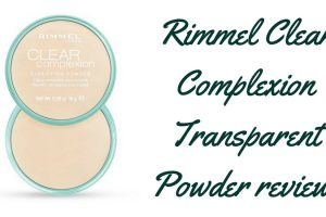Rimmel Clear Complexion Transparent Powder Review TheFuss.co.uk