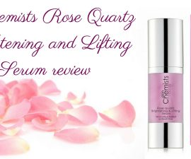 SkinChemists Rose Quartz Brightening And Lifting Serum Review