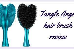 Tangle Angel Hair Brush Review TheFuss.co.uk