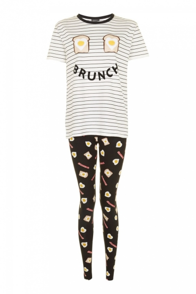 Topshop Brunch Pyjama Set