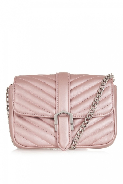 Topshop MAGIC Quilted Crossbody Ba