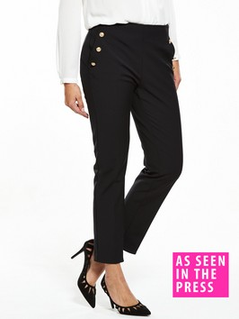 V By Very Military Slim Leg Trouser