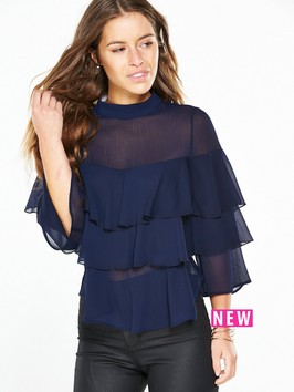 V By Very Petite PETITE Ruffle Layered To