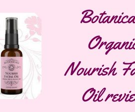 Botanicals Organic Nourish Facial Oil Review