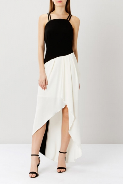 Coast Olivia Mono Strappy Dress