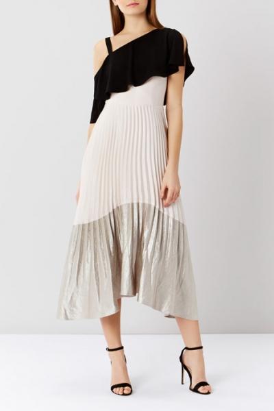 Coast Tonya Soft Colour Block Dress