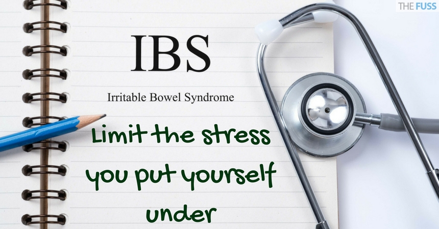 Limit stress to help ease IBS symptoms TheFuss.co.uk