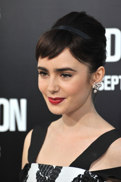 Lily Collins 2011 Featureflash Photo Agency Shutterstock Com