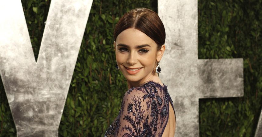 Lily Collins' best hair looks TheFuss.co.uk