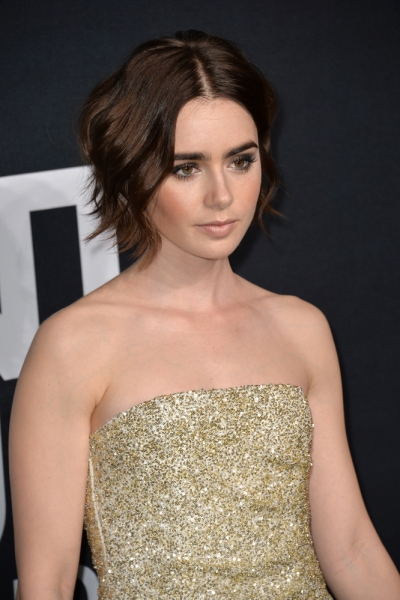 Lily Collins 2016 Featureflash Photo Agency Shutterstock Com