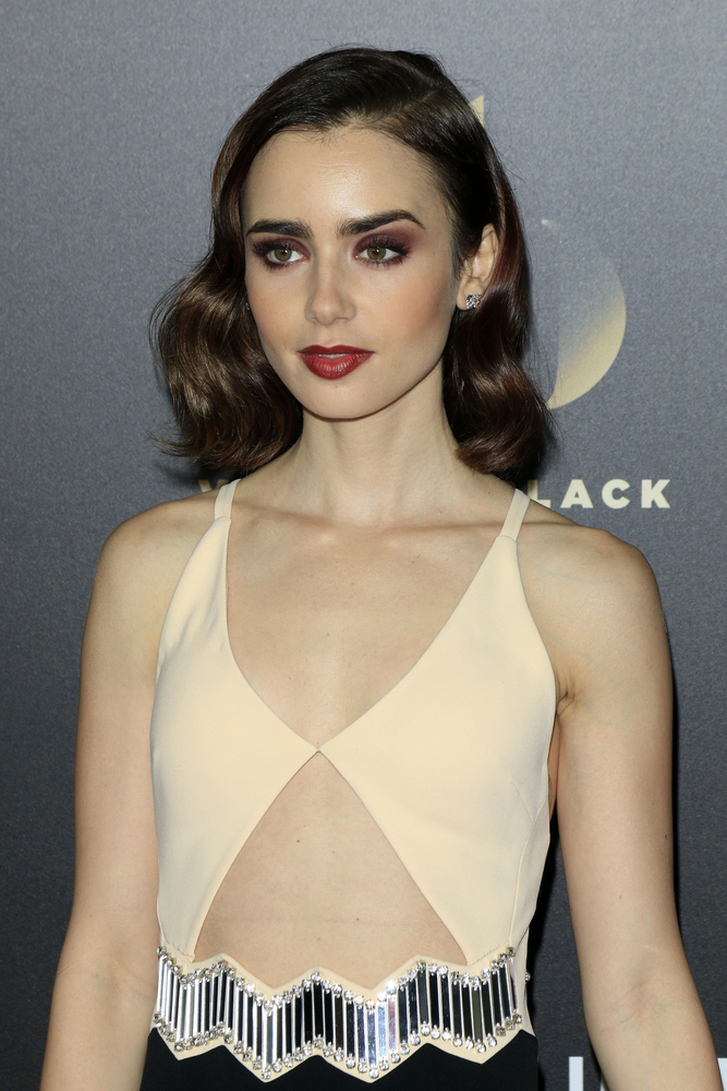 Lily Collins' best hair moments on the red carpet TheFuss.co.uk