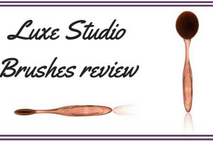 Luxe Studio Brushes Review TheFuss.co.uk