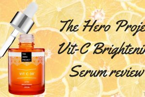 The Hero Project Vit C Brightening Serum Review TheFuss.co.uk