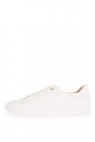 Topshop CATSEYE Lace Up Trainers