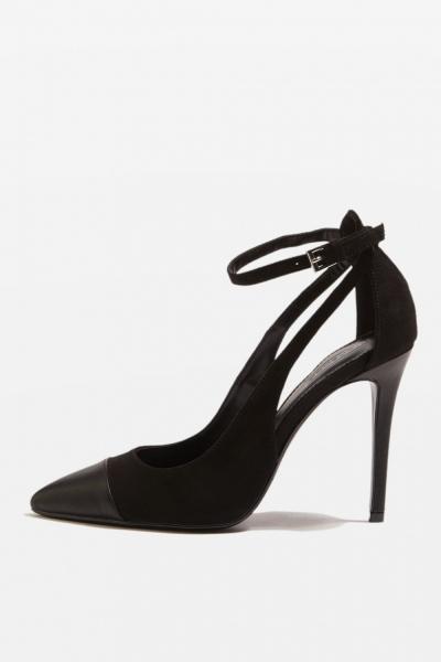 Topshop MACY Toe Cap Court Shoes