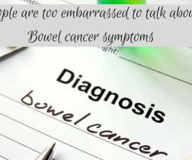 Research shows people are too embarrassed to talk about bowel cancer signs and symptoms TheFuss.co.uk
