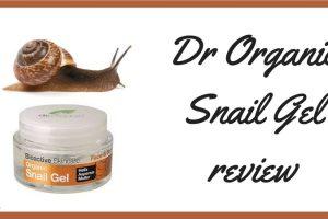 Dr Organic Snail Gel Review TheFuss.co.uk