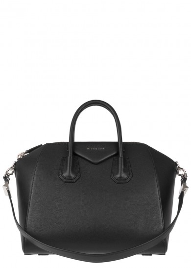 Givenchy Antigona Medium Black Leather Tote