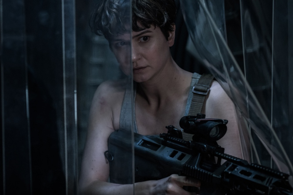 Katherine Waterston stars in Alien: Covenant this week TheFuss.co.uk