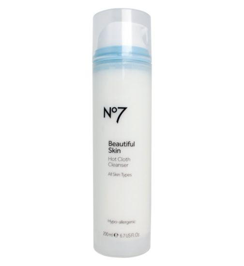 No 7 Beautiful Skin Hot Cloth Cleanser Review TheFuss.co.uk