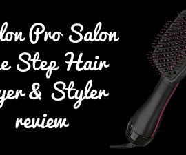 Revlon Pro Salon One Step Hair Dryer Styler Review TheFuss.co.uk