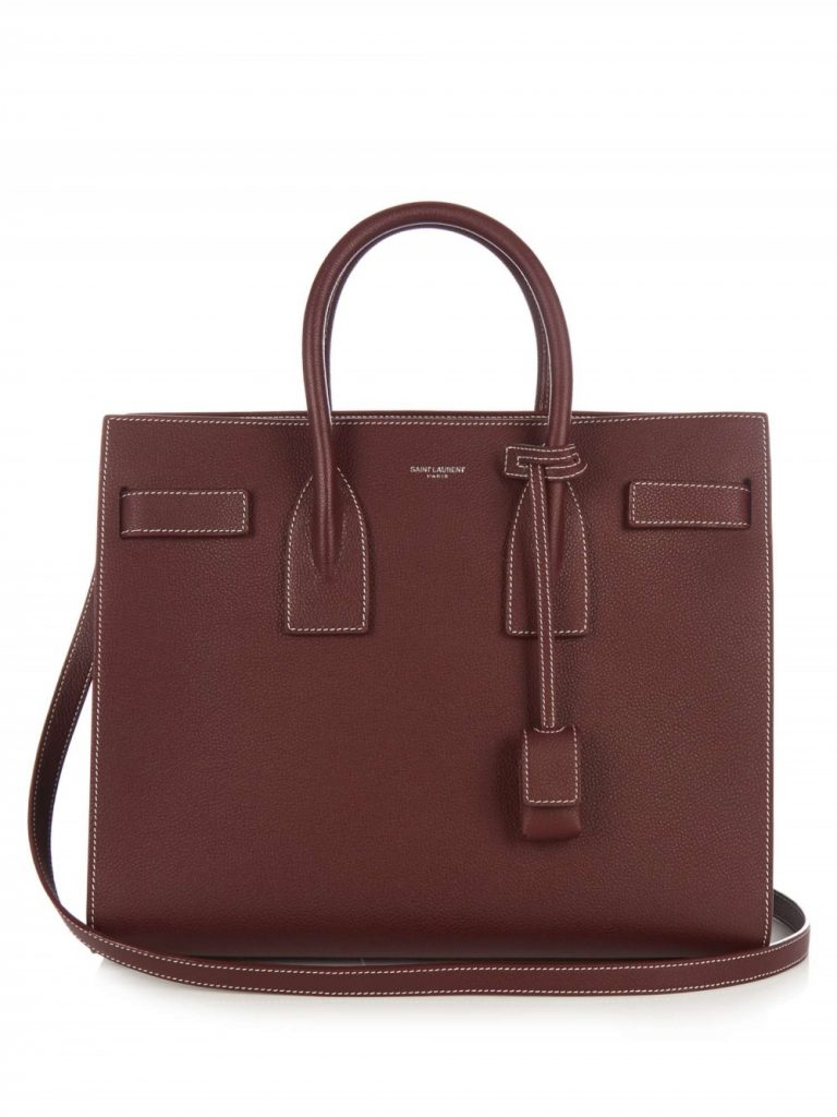 Saint Laurent Sac De Jour Baby Grained Leather Tote