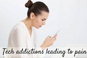 Tech Addictions Leading To Pain TheFuss.co.uk