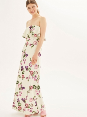 Bandeau Maxi Dress By Oh My Love