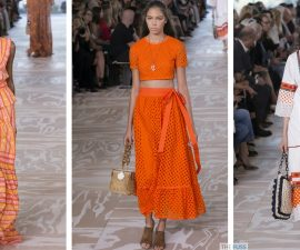 Basket bags seen on the runway at Tory Burch for SS17 TheFuss.co.uk