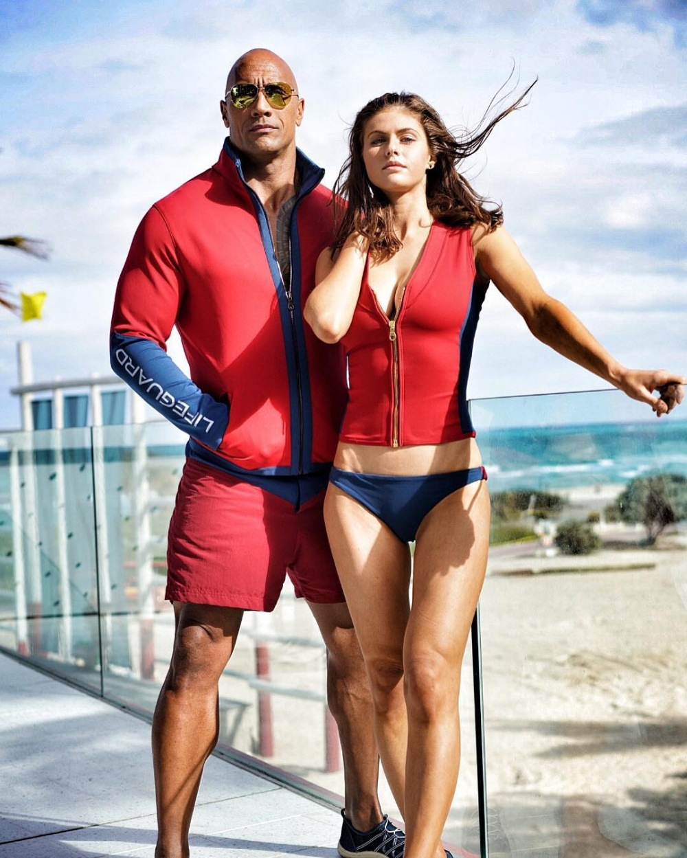 Dwayne Johnson introduced Baywatch castmates to 'butt glue'