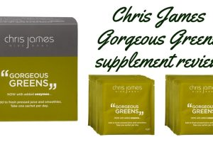 Chris James Gorgeous Greens Supplement Review TheFuss.co.uk