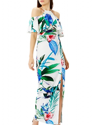 Coast Botanico Print Maxi Dress