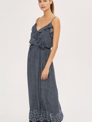 Daisy Print Maxi Dress By Glamorous