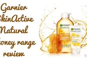 Garnier SkinActive Natural Honey Range Review TheFuss.co.uk