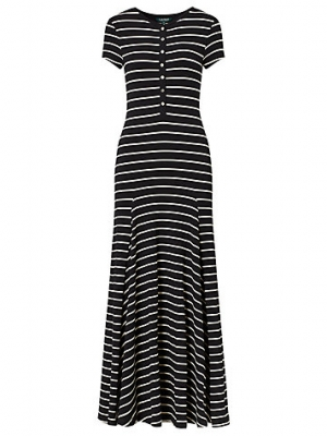 Lauren Ralph Lauren Stripe Maxi Dress