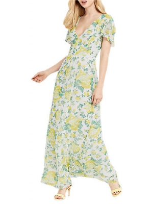 Oasis Summer Blossom Maxi Dress