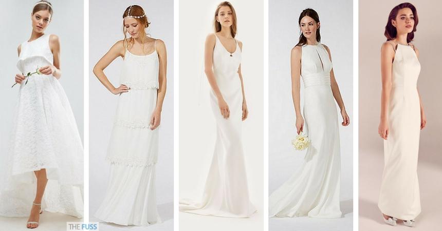Stylish Wedding Dresses On The High Street TheFusscouk