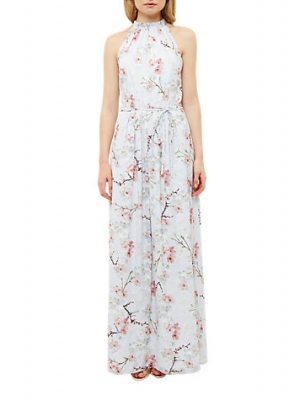 Ted Baker Tie The Knot Elynor Oriental Blossom Maxi Dress