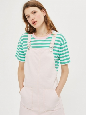 Topshop MOTO Pocket Pinafore Dress