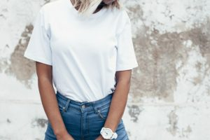 Blue jeans and a white shirt, the ultimate style combination TheFuss.co.uk
